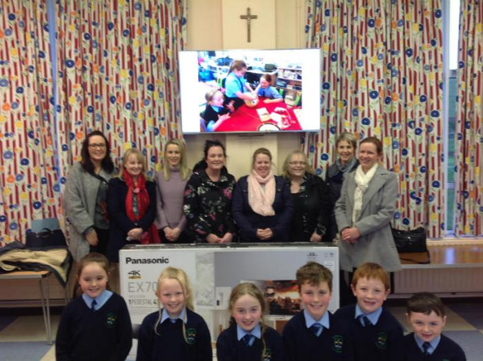 Our New Smart TV donated by our Parents Group